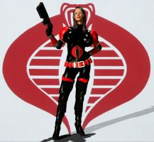 The Baroness from 'G.I. Joe' by Chup-at-Cabra