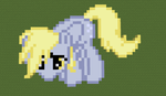 Derpy Hooves Minecraft pixel art by theburningfox