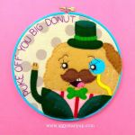 Guy Farting Embroidery by iggystarpup
