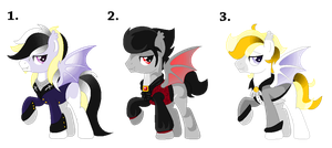 Vampire Bat Pony Auction (CLOSED) by mlpdarksparx