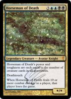 MtG Cards - Horseman of Death by E-n-S