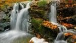 Autumn Waterfall by Pajunen