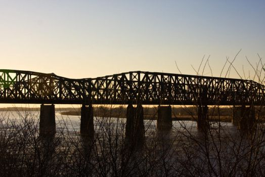 Train Bridge 2 by Katiemarie