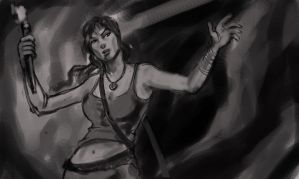 another study for tomb raider reborn by earthwormnistic