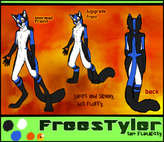 FreesTyler refsheet by LuxuryCat