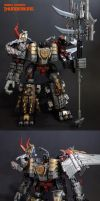 Dinobot Combiner Thunderking by Unicron9