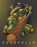 Donatello TMNT by AlonsoEspinoza