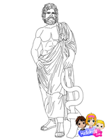 Asclepius by Writer-Colorer