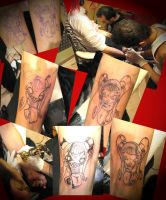 lil gilrs in progress by undermyskinbodyart