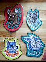 Badge set. by Daisylasy3