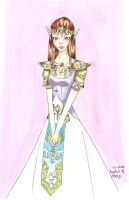 Princess Zelda by BurningMistress
