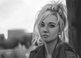 Juno Temple Portrait by tierEight