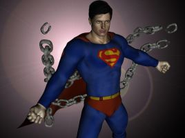 Superman Unleashed by kevmann