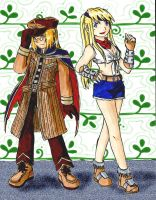 Ed and Winry - Ragnarok-Style by ChibiEdo