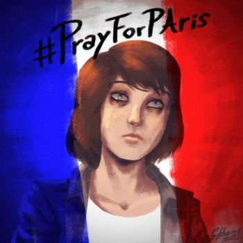 PrayForParis by Gun-B