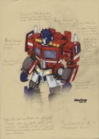 Geewun Movie Optimus Concept by hansime