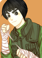 Rock Lee by White-Bears