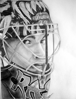 Tuukka Rask by flamingmarshmallows