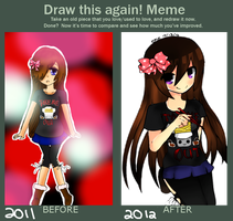 Meme: Before and After by EATMYEGGROLLS