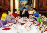 .:Batfamily Dinner:. by 101L