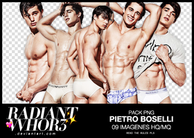 Pack Png // Pietro Boselli by RADIANTWH0R3