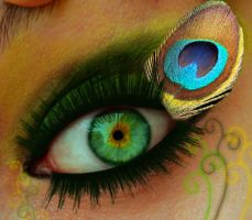 peacock eye by ceciliay