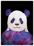 Galaxy Panda by AnumJaved