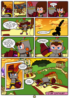 Golden Sky Hero ~ Chapter 2, Final Page by The-Quill-Warrior