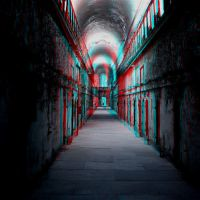 Down the Spooky Hallway 3-D conversion by MVRamsey