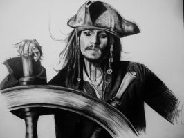 Jack Sparrow Finished by VanZanto