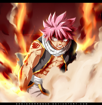 Fairy Tail 534 - Natsu Burn Speed Video by DesignerRenan