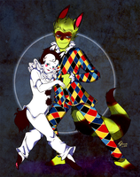 Pierrot n Harlequin by TotemEye