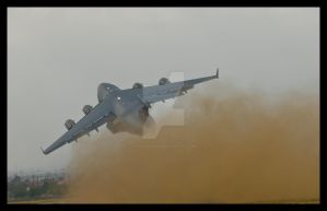 C 17 Takeoff by AirshowDave
