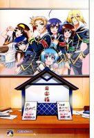 Medaka Box Color Page Cleaned: Goodbye! by StormBrigader