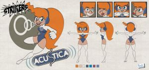 Model sheet - Acustica by Captain-Paulo