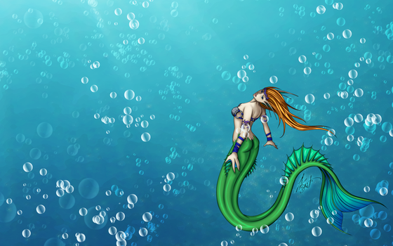 Mermaid-Wallpaper-2013 by lynkx-ie