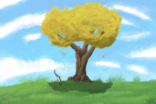 tree with memories by skyice