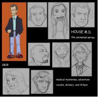 House MD cartoony by Rashomonchb