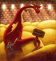 Beware of Dragon by tamaraR