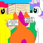 Cutie Mark Crusader Complainers Redraw by MasterYubel