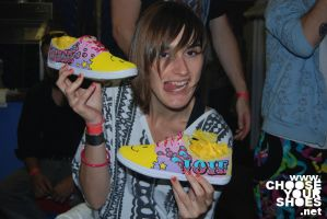YELLE with Custom Shoes by mburk
