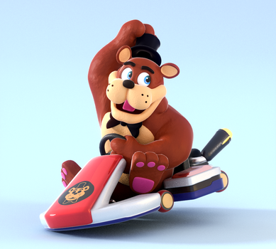 Freddy's Ready To Kart! by SmashingRenders