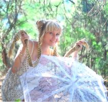 princess serenity cosplay @in forest@ by usagi999