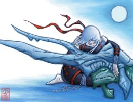 Cold Night - Panzer Dragoon by jac-sparra