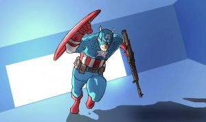 Captain America: Patriot by jdcunard