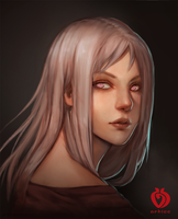 Portrait exercise by arhiee
