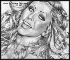 Christina Aguilera by Lianne-Issa
