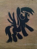 Rough Derpy Stencil by SCARFI5H