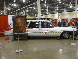 Ecto 1 and Vigo by Linksliltri4ce