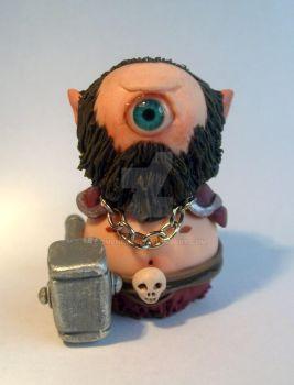 Chibi cyclope miniature 2 by ComeNozes